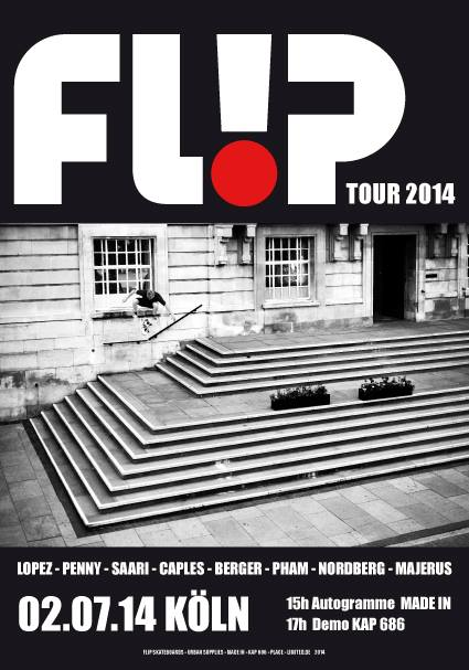 flip tour