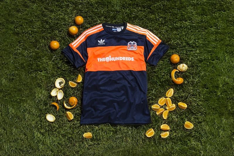 The HundredsXadidasskateboarding-OrangeCrush-Jersey2
