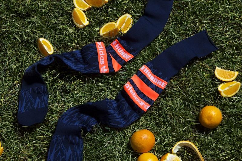 The HundredsXadidasskateboarding-OrangeCrush-Socks
