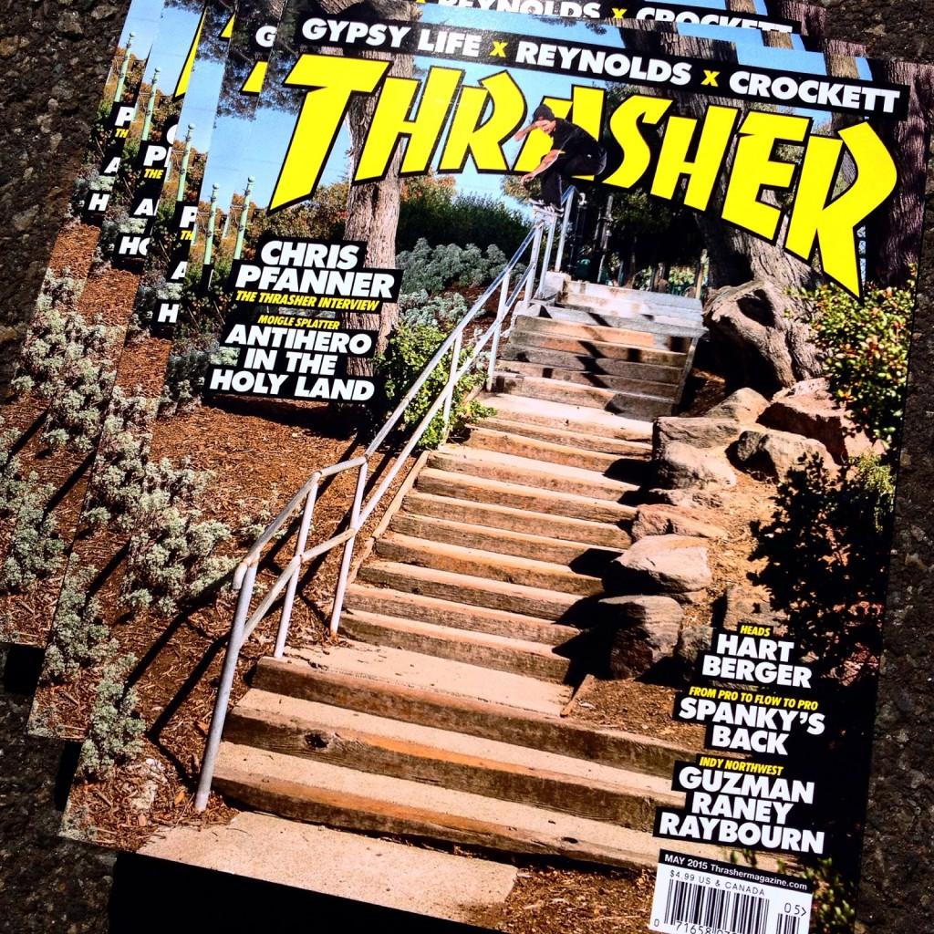 Thrasher Cover
