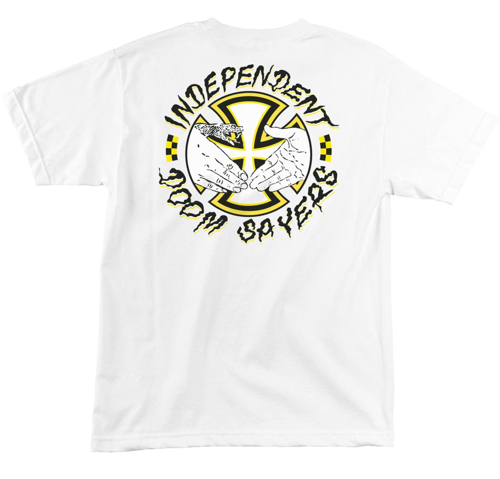 T-Shirt Independent Salazar Doomsayers white