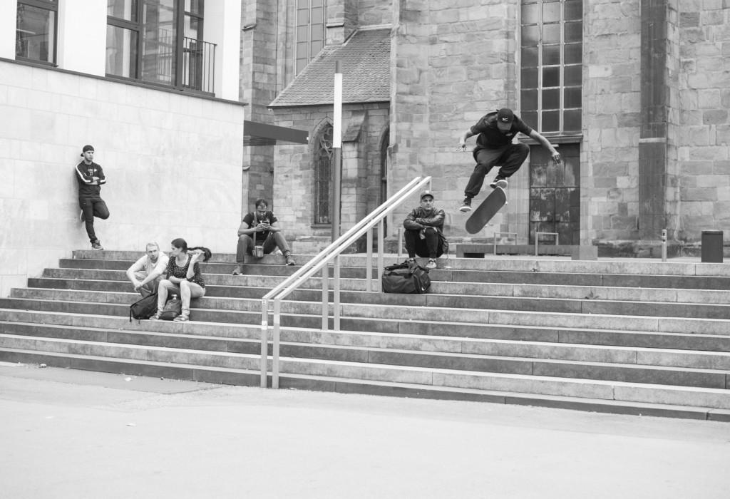 Shajen Willems, first try 360 flip.