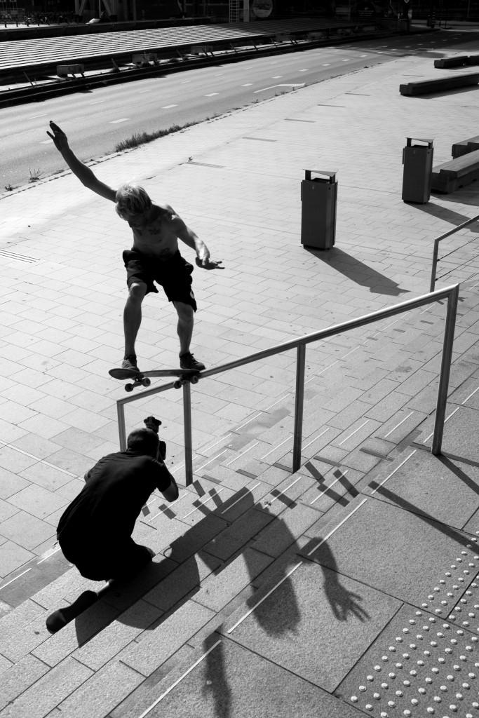 Tim Zom, Frontside Bluntslide, Photo Bastiaan van Zadelhoff.